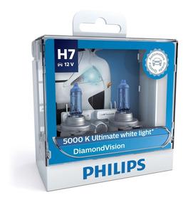 ( Veja Original ) Philips Diamond Vision 5000k H7 + Garantia