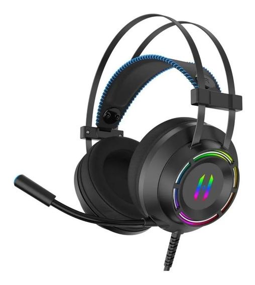 Headphone Gamer Usb 7.1 Ps4 Pc Headset Virtual C/led +brinde