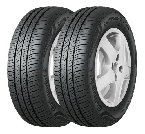 Kit X2 Neumaticos 195/65r15 91h Continental Power Contact