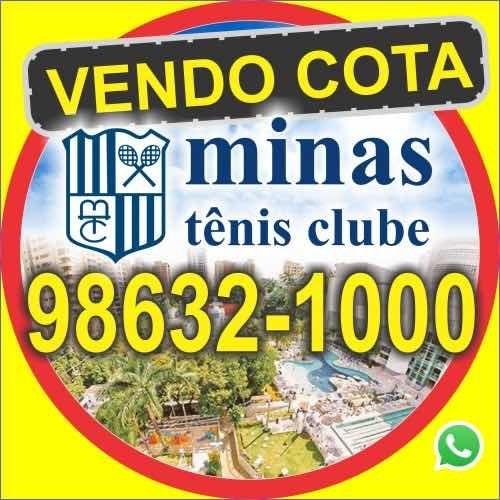 Imagem 1 de 1 de Vendo Cota Minas Tênis Clube. 98632-1000