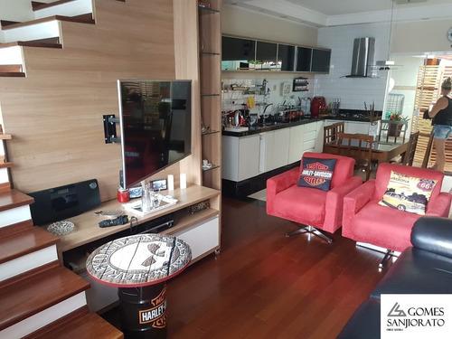 Imagem 1 de 30 de Sobrado Para A Venda Na Villa Scarpelli Em Santo André - Sp. - So00289 - 69510877
