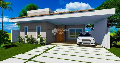 Casa Com Projeto Contemporâneo Alphaville Camaçari
