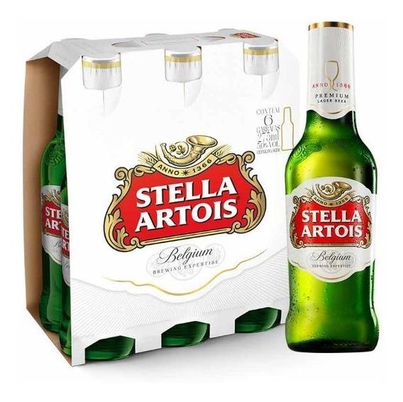 Cerveza Stella Artois 330 Cc X 6 Unidades
