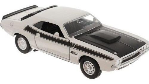 Welly Dodge Challenger 1970 Escala 1:36 Abre Las Puertas