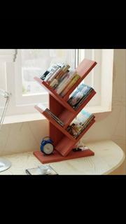 Mini Librero Minimalista Vintage, Modern Furniture.