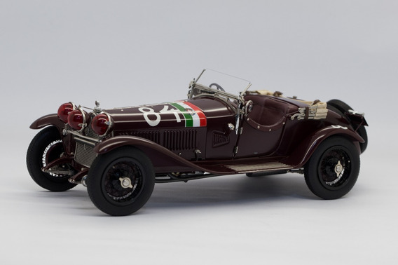 Cmc - Alfa Romeo 6c 1750 Gs - Mille Miglia 1930 - 1:18