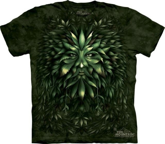 Remera The Mountain Greenman - A Pedido_exkarg