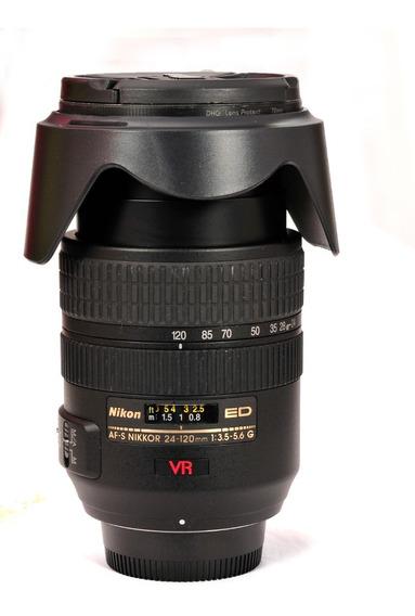 Lente Nikon 24-120 3.5.6 Full Frame Novinha..entrega Normal