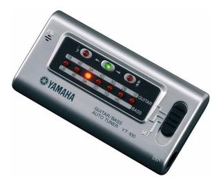 Afinador Yamaha Yt100 Para Guitarra Y Bajo