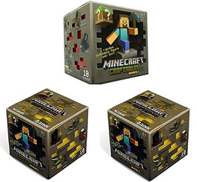 Figura Pack Serie Blind Craftables Oficial Minecraft Set 1 3 QCeEBWdorx