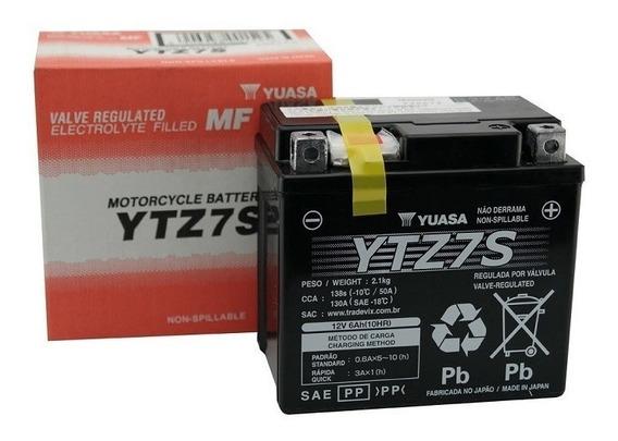 Bateria Yuasa Moto Ytz7s Crf 230/450 Cbr 1000 Zx10 Wr450