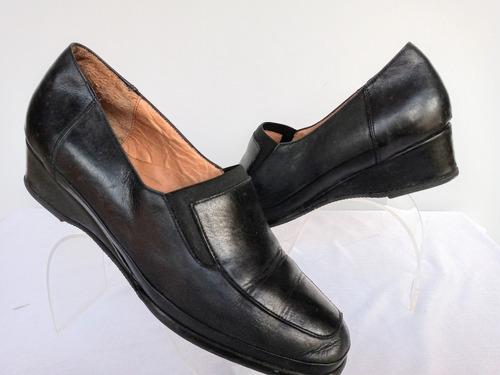 Zapatos Legitomo Cuero Vacuno Nro.38 O.mar2011