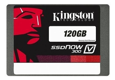 Ssd De Mostruario 120gb Kingston Sata Iii V300 Series