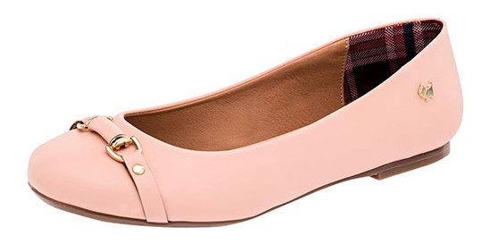 Zapato Flats Dama Pk 90509 Ferrioni Maquillaje