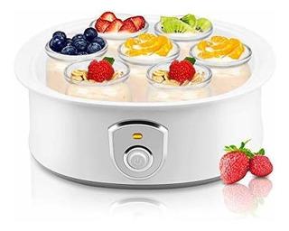 Maquina Automatica Para Hacer Yogurt 7 Tarros Griegos De Vid