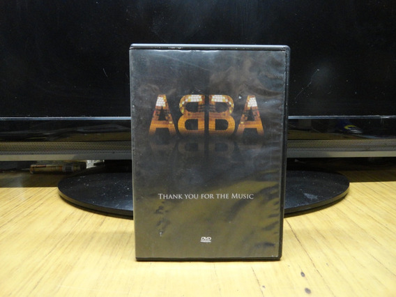 Abba - Thank You For The Music - Dvd Original 2010