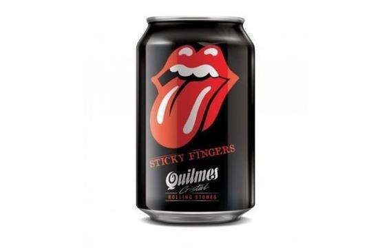 Lata Rolling Stones Cerveza Quilmes Edición Limitada Llena