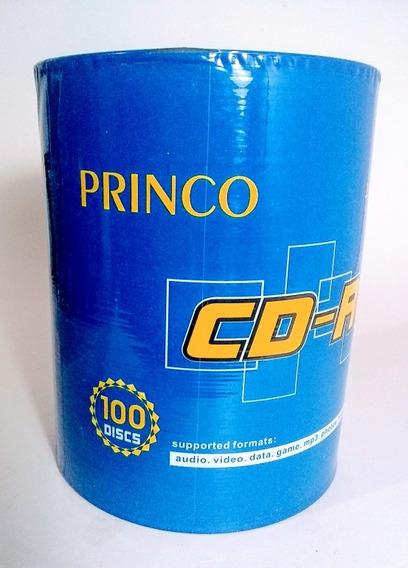 Cd Princo Virgen Torre De 100 Unidades. 700 Mb, 80 Min