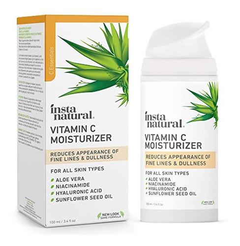 Instanatural Crema Hidratante De Vitamina C