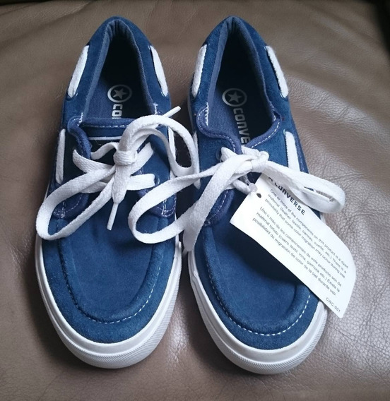 Recién Llegados Zapatos Converse De Cuero Talla 35,5 Unisex