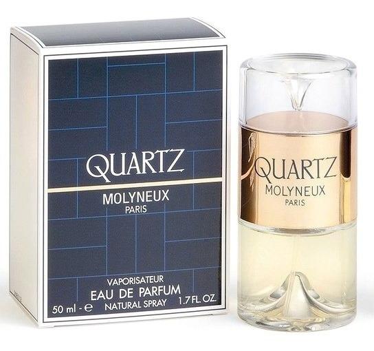 Quartz Pour Femme Eau De Parfum 50ml Feminino + Amostra