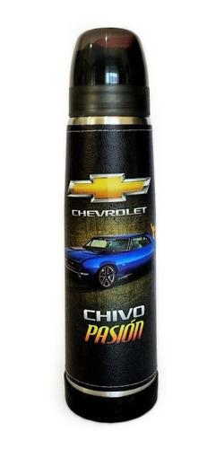 Termo Acero Inoxidable Lumilagro Luminox 1 Litro Chevrolet