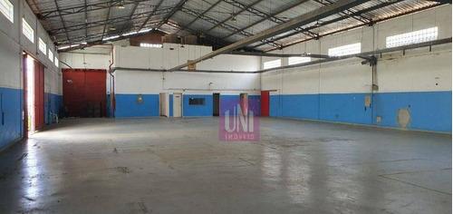 Imagem 1 de 15 de Galpão Para Alugar, 800 M² Por R$ 25.000,00/mês - Bonfim - Osasco/sp - Ga0185