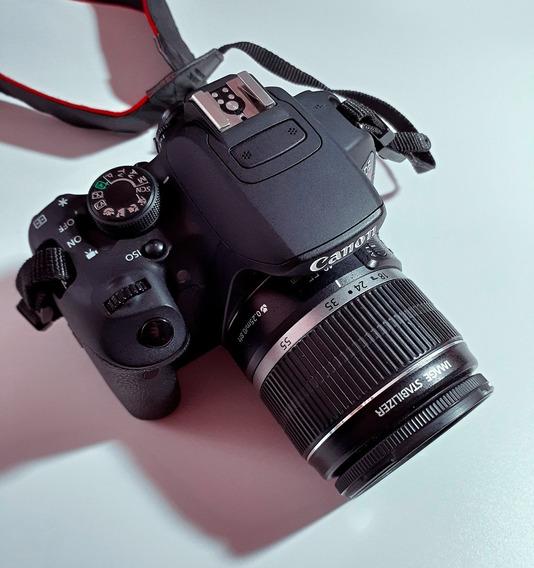 Câmera Canon Eos T5i Com Lente 18-55mm Kit. 9500 Cliques.