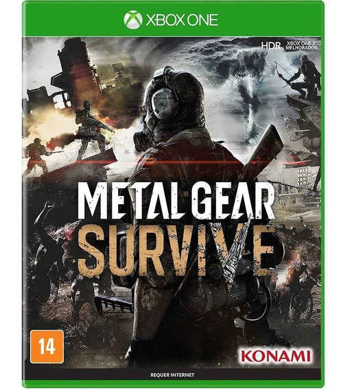 Metal Gear Survive - Xbox One Midia Fisica Dvd