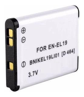 Bateria En-el19 Para Coolpix S7000 S6500 S5200 S3100 S4100