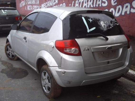 Sucata Ford Ka Em Partes Motor 1.0 Flex C/ Baixa Cambio Etc.