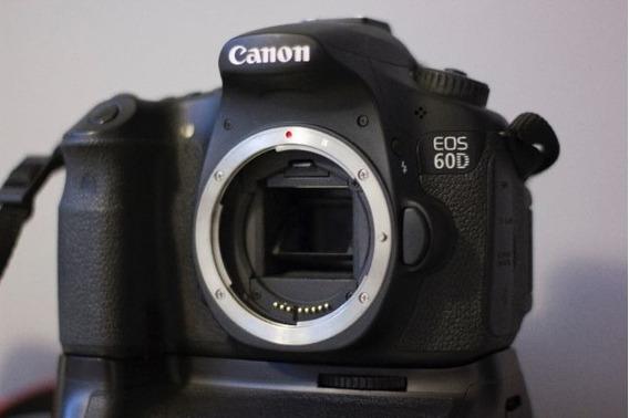 Canon 60d + Lente 35mm F2 + Grip + Baterias + Alça + Sd 16gb
