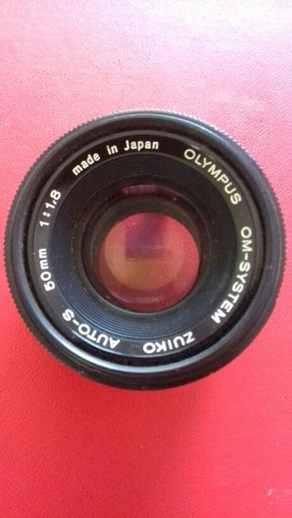 Lente Olimpus 50mm 1:1.8