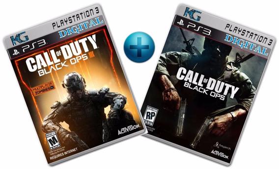 Call Of Duty Black Ops3 + Cod Black Ops 1 Ps3 (psn) Imediato