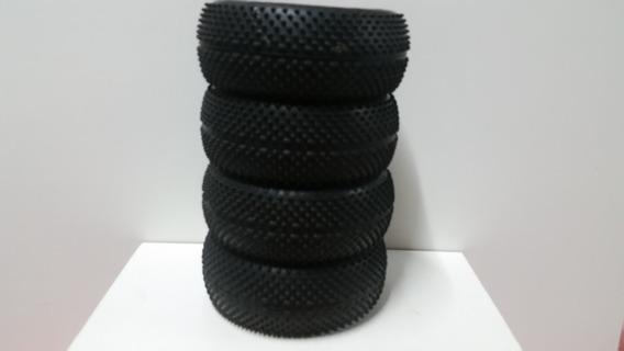 Kyosho Jogo Rodas+pneus Of Road1/8 Inferno Semi Nova Laranja