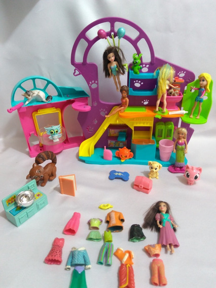 Pet Shop Casinha Polly Pocket Usada $