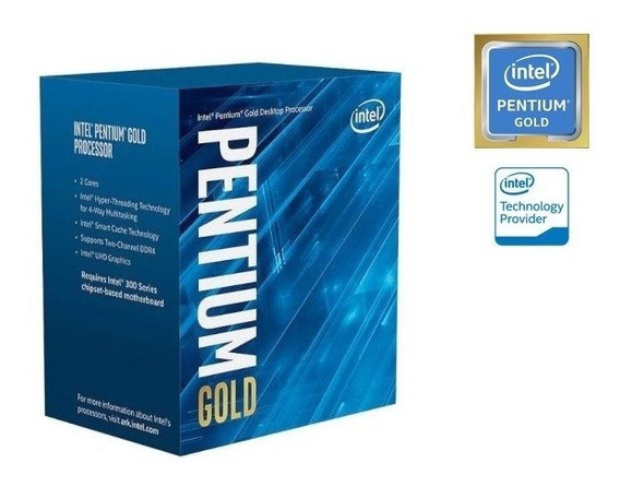 Processador Intel Pentium G5400 Gold Lga 1151 Coffee Lake