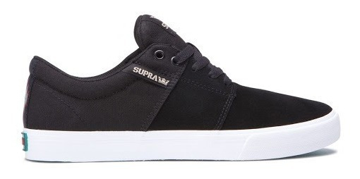 Supra Footwear - Stacks Vulc 2 / Black White / Tenis Skate
