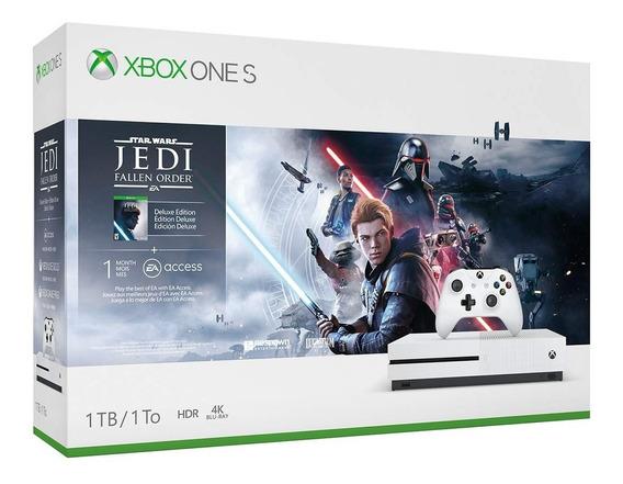 Console Xbox One S Star Wars 1tb Nacional