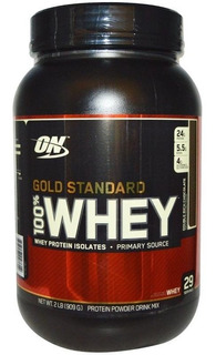 100% Whey Gold Standard 909g - Optimum Nutrition Salvador