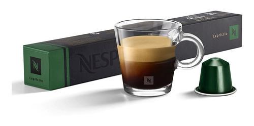 Cápsulas De Café Nespresso Capriccio - 10 Cápsulas