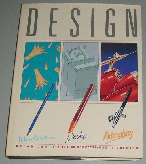 Livro Design - Illustration Design Airbrushing ( Inglês )