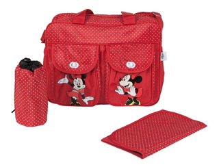 Bolso Maternal Disney Cambiador Disney Mickey Minnie 2021