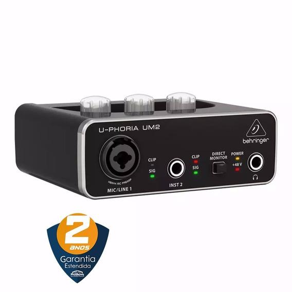 Behringer Um2 Interface De Audio Usb 48khz