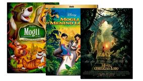 3 Dvd: Mogli O Menino Lobo 1967 2003 + Filme 2016