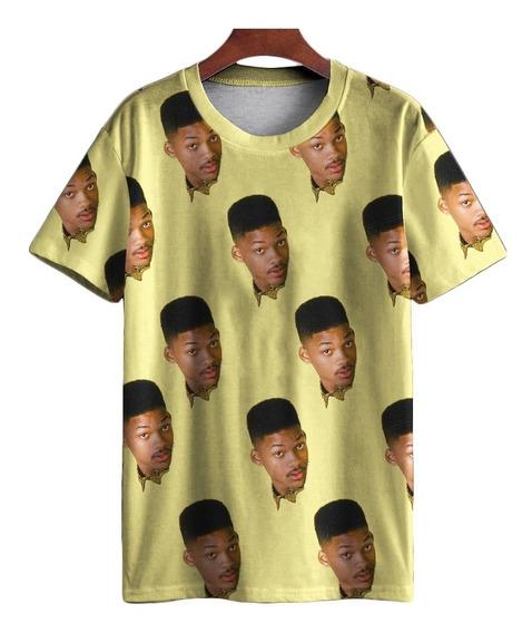 Kit Samba Cancao E Camiseta Will Smith Fresh Prince Retro Mt