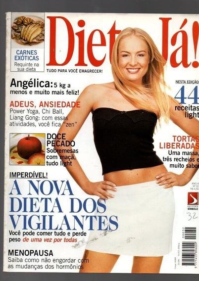 2 Revistas Dieta Já Angélica E Monique Evans Do Ano 1999