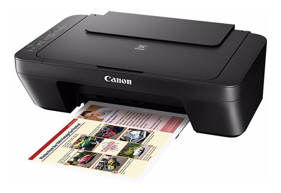 Multifuncional Canon Mg3010 Preto Wifi Copiadora E Scanner