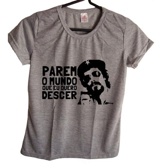 Camiseta Babylook Raul Seixas Feminina Blusa Tshirt Maluco Beleza Banda De Rock