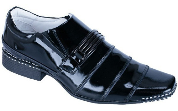 Sapato Social Couro Legítimo Alcalay Vários Modelos Palm Gel